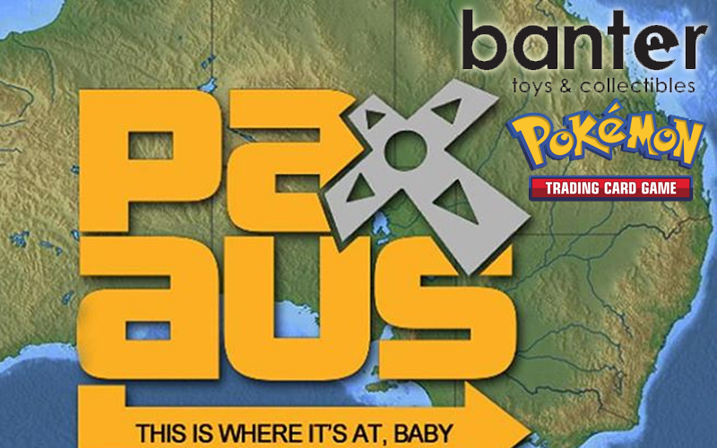Banter Toys hosting PAX Australia PTCG Events