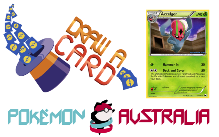 Draw a Card Issue #1: Accelgor DEX11 – via Pokemon Australia